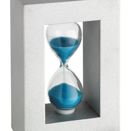 3 minutre hourglass sand kitchen timer