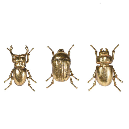 gold beetle ornaments